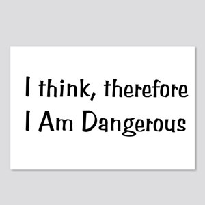 Dangerous Thinker Postcards (Package of 8)
