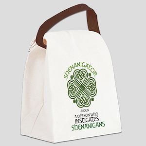 Shenanigator Canvas Lunch Bag