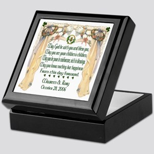 Wedding Sample One (Blessing) Keepsake Box