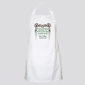 Wedding Sample 2 BBQ Apron