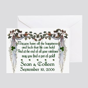 Wedding Sample 2 Greeting Cards (Pk of 10)