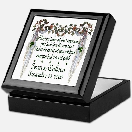 Wedding Sample 2 Keepsake Box
