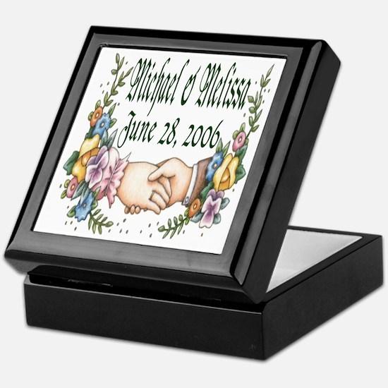 Wedding Sample 3 Keepsake Box