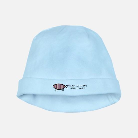 Atheist Voter Baby Hat