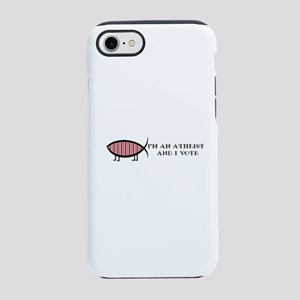 Atheist Voter iPhone 8/7 Tough Case