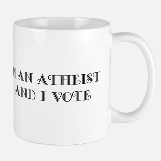 Atheist Voter Stainless Steel Travel Mugs