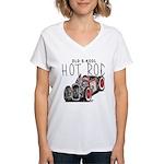 OLD S-KOOL Women's V-Neck T-Shirt