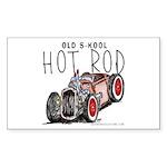 OLD S-KOOL Rectangle Sticker
