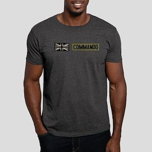 British Flag: Commando Dark T-Shirt