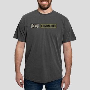 British Flag: Commando Mens Comfort Colors Shirt