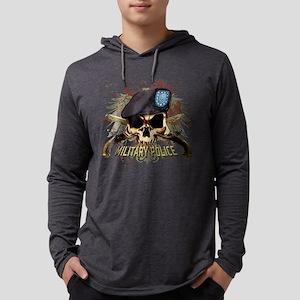 MP Skull Pistols Urban Color Long Sleeve T-Shirt