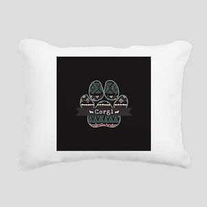 Corgi Rectangular Canvas Pillow