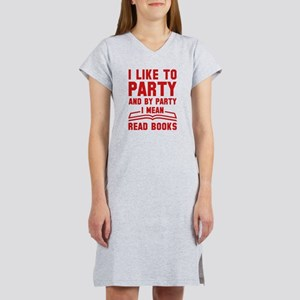 I Like To Party White T-Shirt