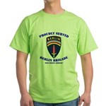 Proudly Served Berlin Brigade Green T-Shirt