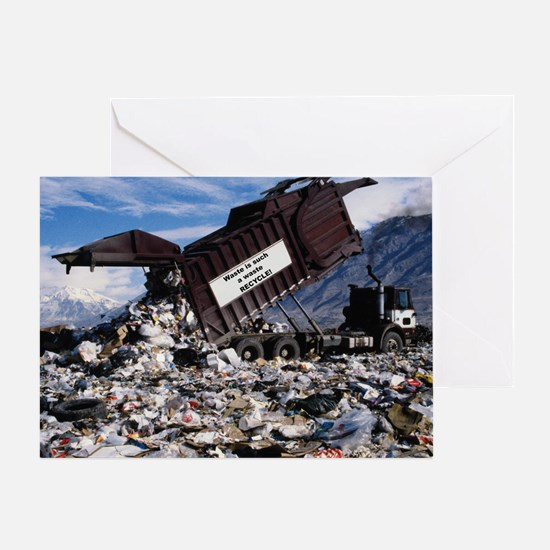 Waste is such a waste Greeting Card