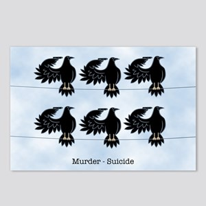 Murder - Suicide Postcards (Package of 8)