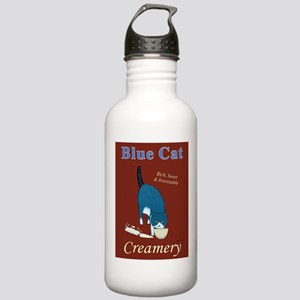 Blue Cat Creamery Stainless Water Bottle 1.0L