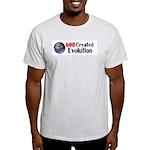 God Created Evolution Light T-Shirt