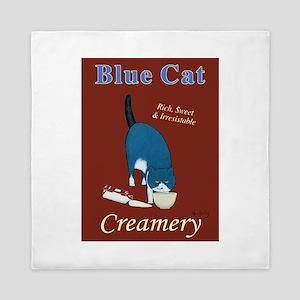 Blue Cat Creamery Queen Duvet