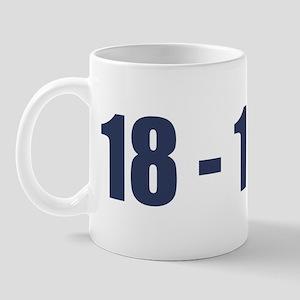 NY Giants Super Bowl Champs (18-1) Mug