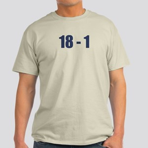 NY Giants Super Bowl Champs (18-1) Light T-Shirt