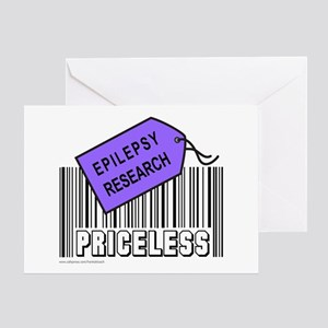 EPILEPSY CAUSE Greeting Card