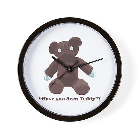 Teddy Wall Clock