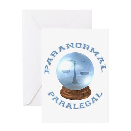 Paranormal Paralegal Greeting Card