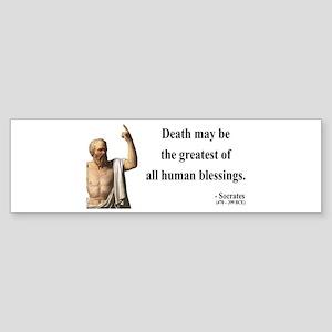 Socrates 15 Bumper Sticker