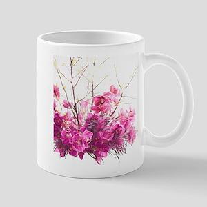 Serene Pink Phalaenopsis Orchids Travel Mugs