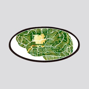 Green Micro Chip Brain Patch