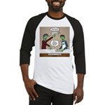 Cooking with the Zombies Baseball Tee