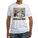 Cooking with the Zombies Fitted T-Shirt