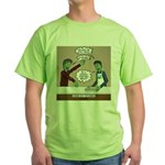Cooking with the Zombies Green T-Shirt