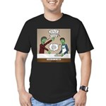 Cooking with the Zombi Men's Fitted T-Shirt (dark)