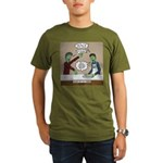 Cooking with the Zomb Organic Men's T-Shirt (dark)