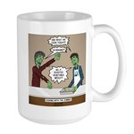 Cooking with the Zombies 15 oz Ceramic Large Mug