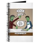 Cooking with the Zombies Journal