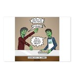 Cooking with the Zombies Postcards (Package of 8)