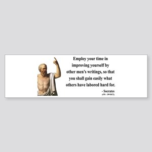 Socrates 16 Bumper Sticker