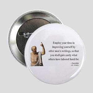 "Socrates 16 2.25"" Button"