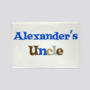 Alexander's Uncle Rectangle Magnet