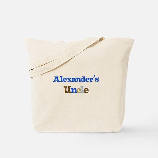 Alexander's Uncle Tote Bag