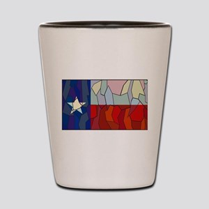 Texas Stained Glass Window Shot Glass