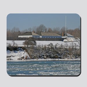 Fort George In The Winter Mousepad