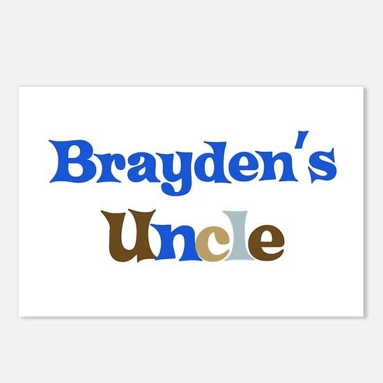Brayden's Uncle Postcards (Package of 8)