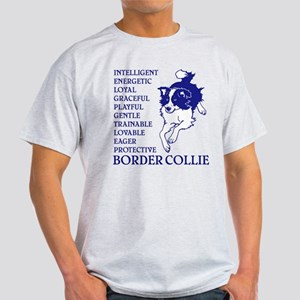 LOYAL BORDER COLLIE Light T-Shirt