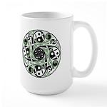 Celtic Stepping Stone Large Mug