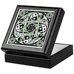Celtic Stepping Stone Keepsake Box