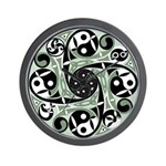 Celtic Stepping Stone Wall Clock